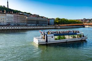 Croisière promenade à Lyon
